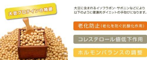 大豆プロテイン効果